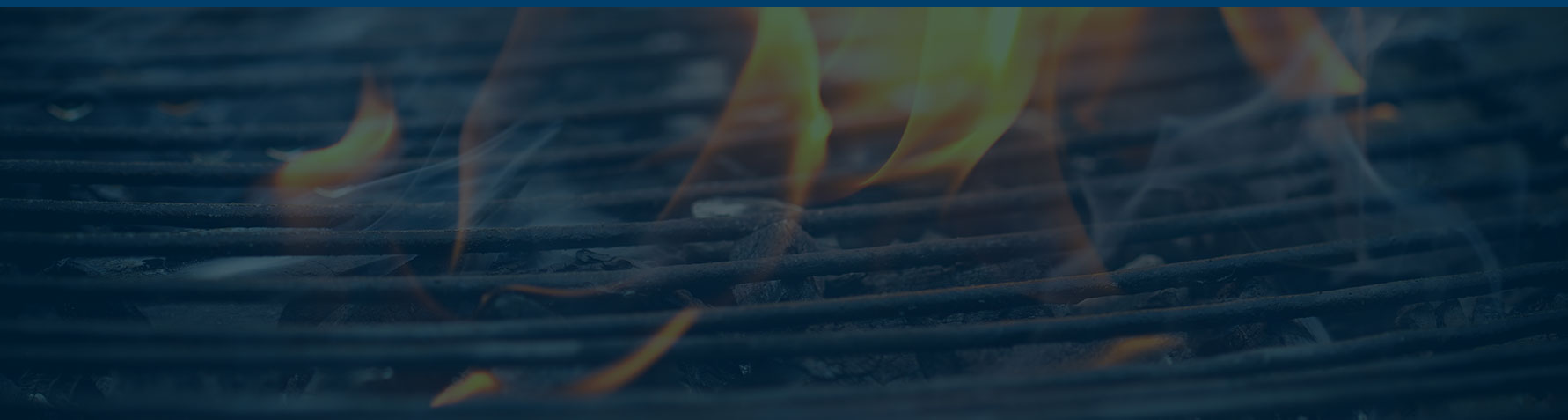 Grill Design Landing Page