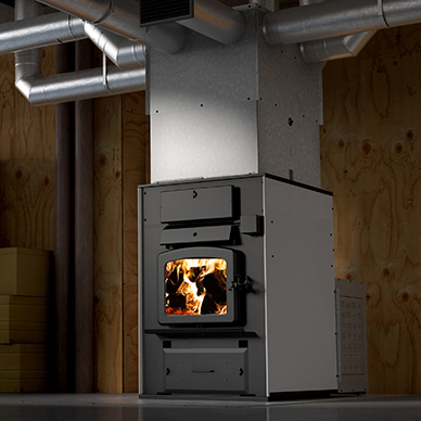 warm air furnace
