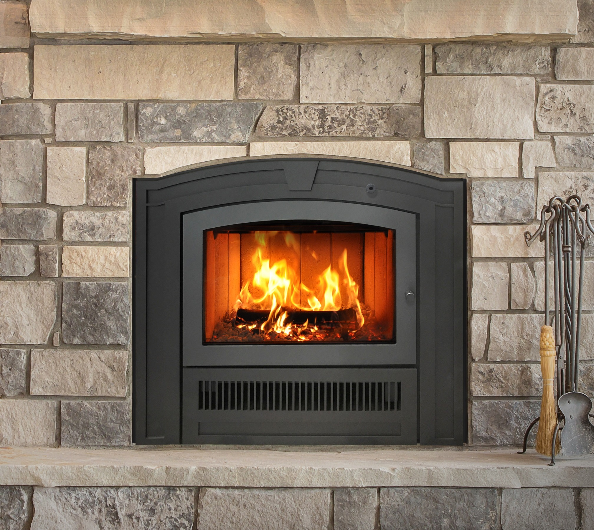 EPA-certified fireplace woodstove