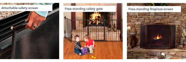 Products | Glass Safety | Burns | Hot Glass | Fireplaces | Stoves