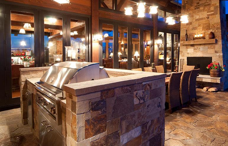 Outdoor Kitchen Outdoor Living Patio Hpba