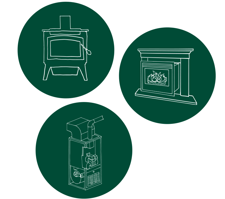 Policy Makers Woodstove Icons